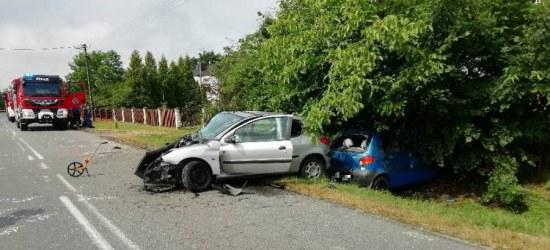 Tragiczny wypadek w Medyni Głogowskiej, nie żyje 54-letni kierowca daewoo ZDJĘCIA